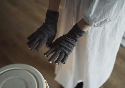 100% Fingerless Merino Wool Gloves