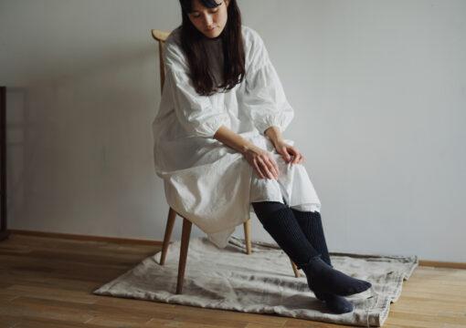 Silk Wool Double-weave Ankle Warmers