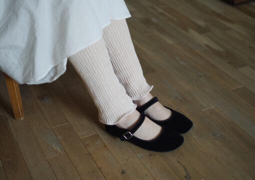 Silk Cotton Double-weave Leg Warmers
