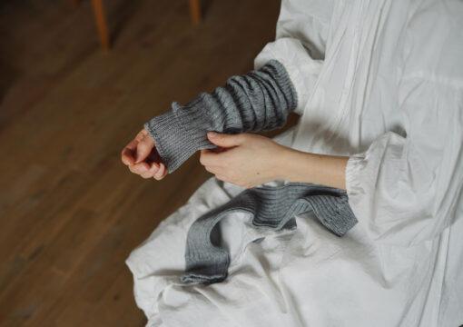 Cashmere Cotton Arm & Leg Warmers