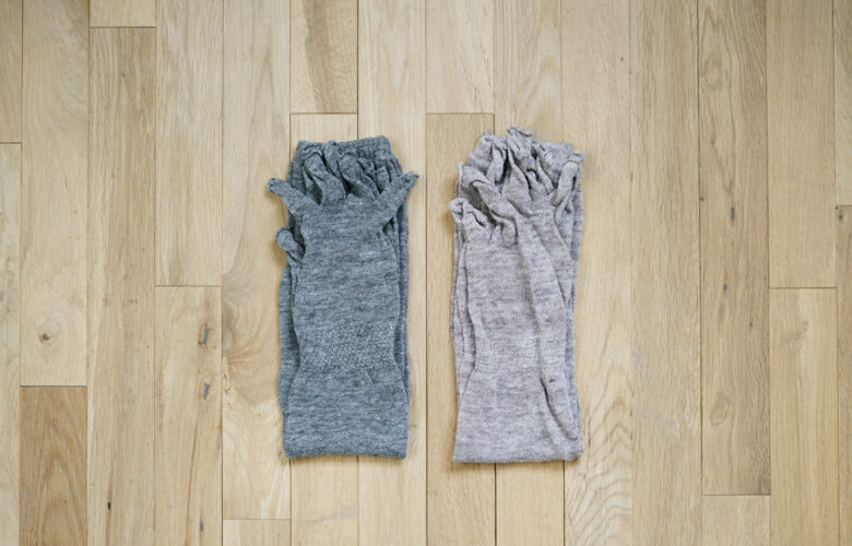 Linen Open Finger Arm Covers