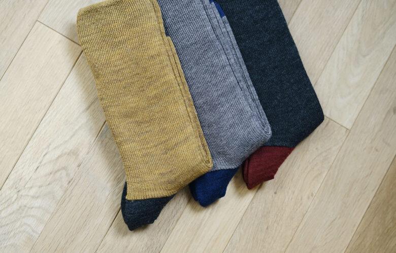 Silk Wool Five Finger Socks & Double Weave Socks