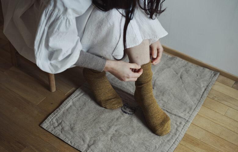 シルクウール重ね履きソックスセット